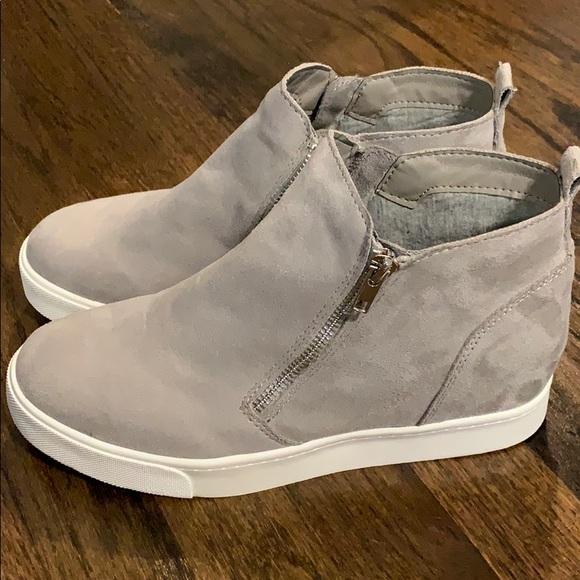 Soda Shoes | Wedge Sneakers | Poshmark